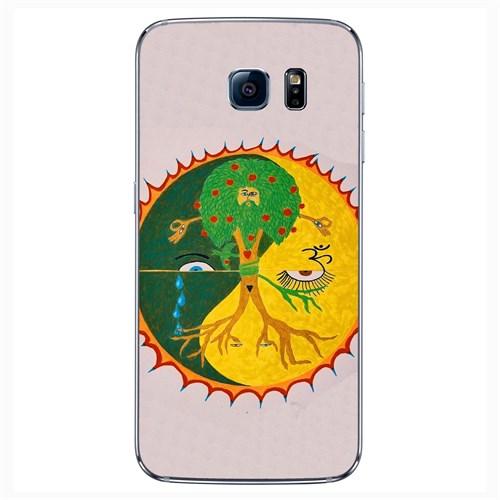 Cover&Case Samsung Galaxy S6 Silikon Tasarım Telefon Kılıfı Ccs02-S04-0113