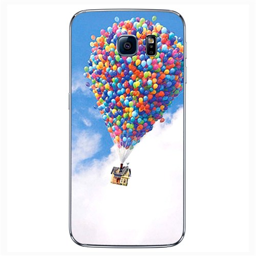 Cover&Case Samsung Galaxy S6 Silikon Tasarım Telefon Kılıfı Ccs02-S04-0132