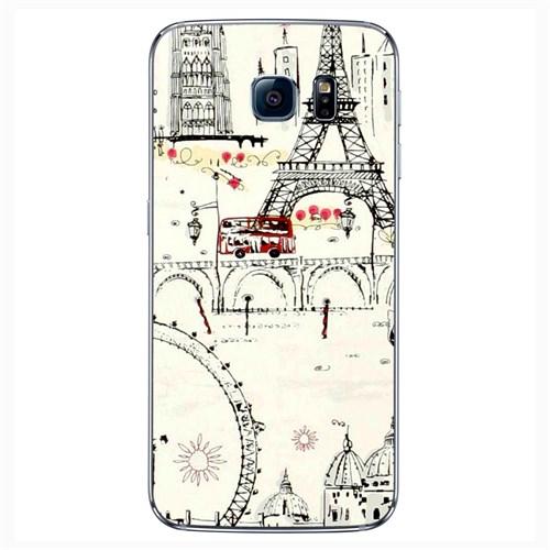 Cover&Case Samsung Galaxy S6 Silikon Tasarım Telefon Kılıfı Ccs02-S04-0146