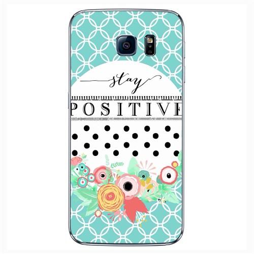 Cover&Case Samsung Galaxy S6 Silikon Tasarım Telefon Kılıfı Ccs02-S04-0159
