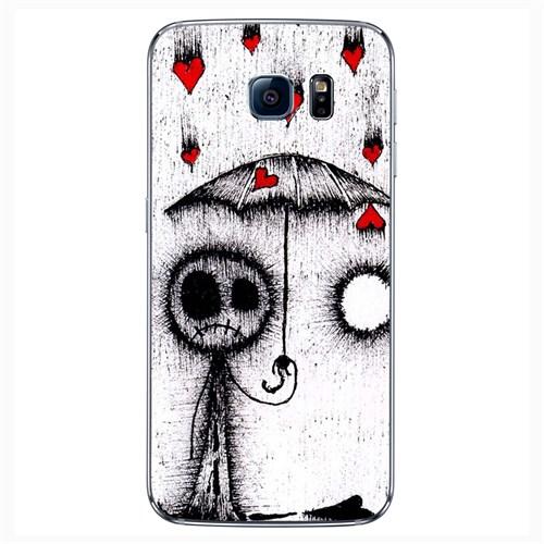 Cover&Case Samsung Galaxy S6 Silikon Tasarım Telefon Kılıfı Ccs02-S04-0192
