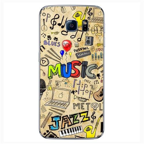 Cover&Case Samsung Galaxy S6 Silikon Tasarım Telefon Kılıfı Ccs02-S04-0228