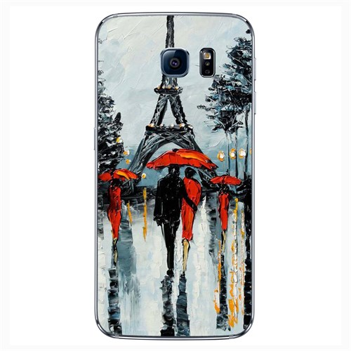 Cover&Case Samsung Galaxy S6 Silikon Tasarım Telefon Kılıfı Ccs02-S04-0234