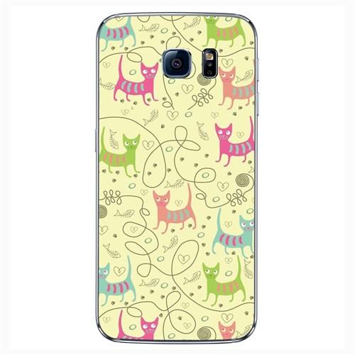 Cover&Case Samsung Galaxy S6 Silikon Tasarım Telefon Kılıfı Ccs02-S04-0244