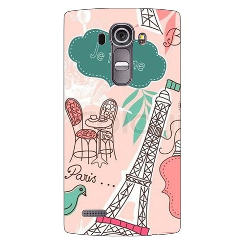 Cover&Case Lg G4 Silikon Tasarım Telefon Kılıfı Ccs04-G03-0150