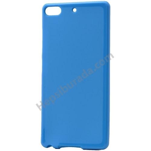 Fonemax General Mobile Discovery Elite Soft Silikon Kılıf Mavi