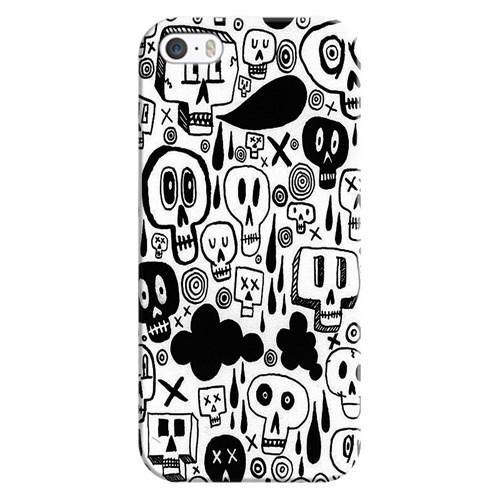 Cover&Case Apple İphone 5 / 5S / Se Silikon Tasarım Telefon Kılıfı Ccs01-Ip02-0059