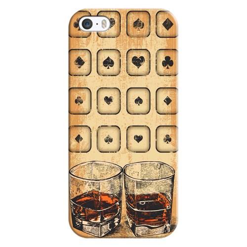 Cover&Case Apple İphone 5 / 5S / Se Silikon Tasarım Telefon Kılıfı Ccs01-Ip02-0085