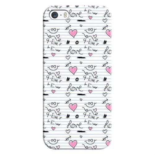 Cover&Case Apple İphone 5 / 5S / Se Silikon Tasarım Telefon Kılıfı Ccs01-Ip02-0091