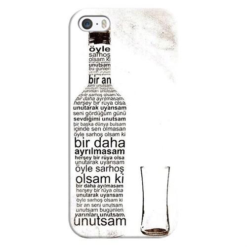 Cover&Case Apple İphone 5 / 5S / Se Silikon Tasarım Telefon Kılıfı Ccs01-Ip02-0128