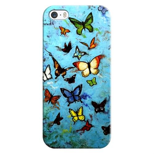 Cover&Case Apple İphone 5 / 5S / Se Silikon Tasarım Telefon Kılıfı Ccs01-Ip02-0136