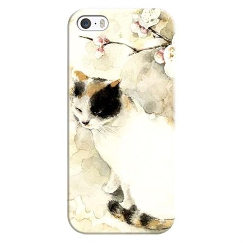 Cover&Case Apple İphone 5 / 5S / Se Silikon Tasarım Telefon Kılıfı Ccs01-Ip02-0202