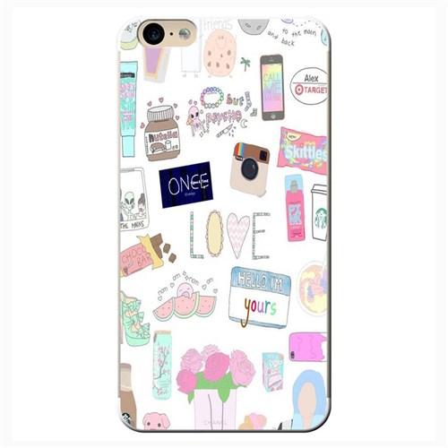 Cover&Case İphone 6 Plus / 6S Plus Silikon Tasarım Telefon Kılıfı Ccs01-Ip04-0039