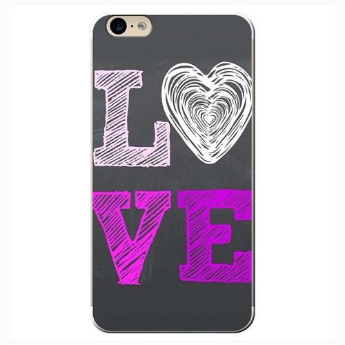 Cover&Case İphone 6 Plus / 6S Plus Silikon Tasarım Telefon Kılıfı Ccs01-Ip04-0044