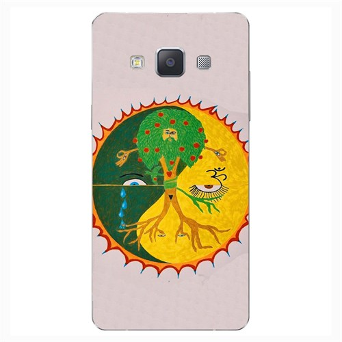 Cover&Case Samsung Galaxy A5 Silikon Tasarım Telefon Kılıfı Ccs02-A02-0113