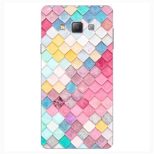 Cover&Case Samsung Galaxy A7 Silikon Tasarım Telefon Kılıfı Ccs02-A03-0028