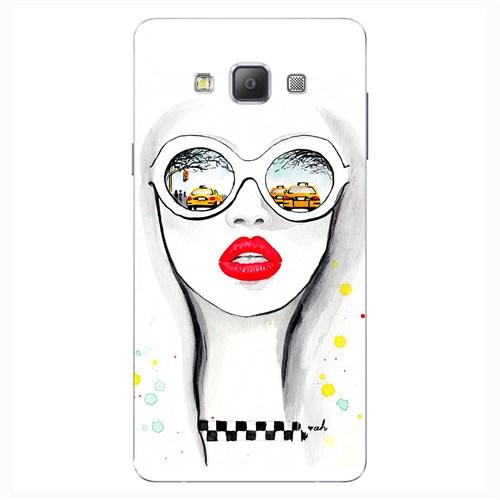 Cover&Case Samsung Galaxy A8 Silikon Tasarım Telefon Kılıfı Ccs02-A04-0013