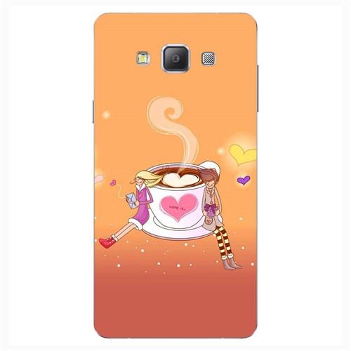 Cover&Case Samsung Galaxy A8 Silikon Tasarım Telefon Kılıfı Ccs02-A04-0083