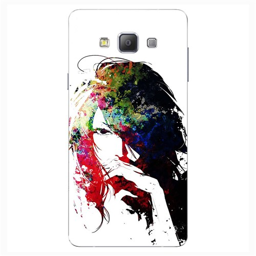 Cover&Case Samsung Galaxy A8 Silikon Tasarım Telefon Kılıfı Ccs02-A04-0141