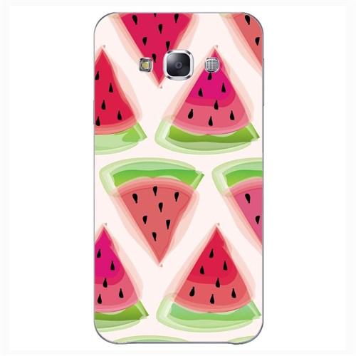 Cover&Case Samsung Galaxy E5 Silikon Tasarım Telefon Kılıfı Ccs02-E01-0017