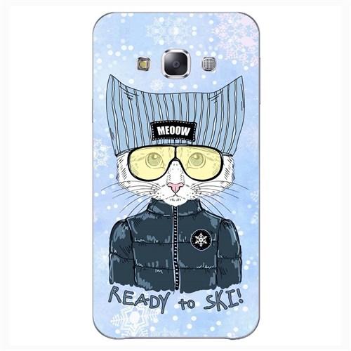 Cover&Case Samsung Galaxy E5 Silikon Tasarım Telefon Kılıfı Ccs02-E01-0090