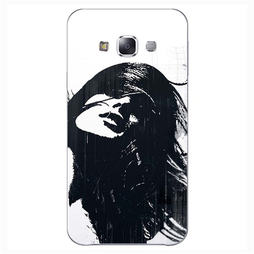 Cover&Case Samsung Galaxy E5 Silikon Tasarım Telefon Kılıfı Ccs02-E01-0145