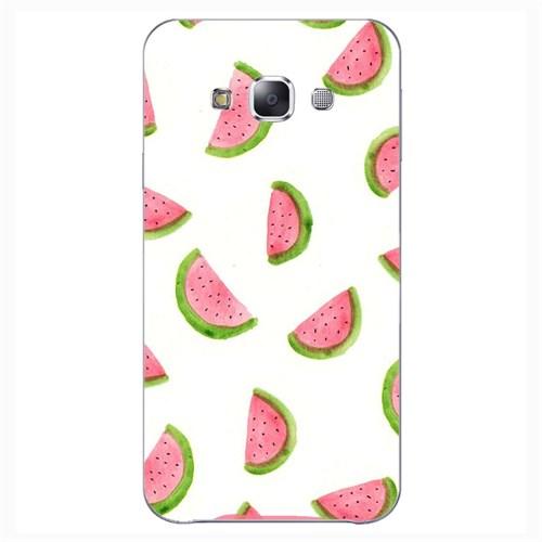 Cover&Case Samsung Galaxy E7 Silikon Tasarım Telefon Kılıfı Ccs02-E02-0029