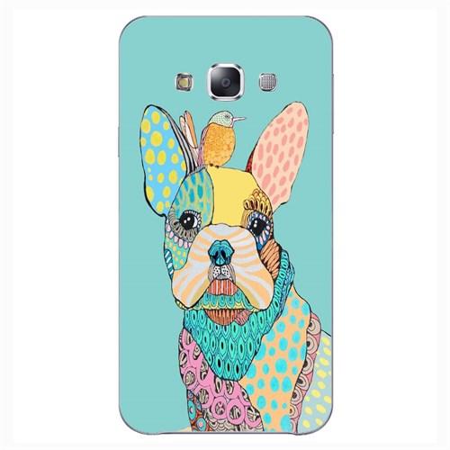 Cover&Case Samsung Galaxy E7 Silikon Tasarım Telefon Kılıfı Ccs02-E02-0081