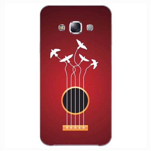 Cover&Case Samsung Galaxy E7 Silikon Tasarım Telefon Kılıfı Ccs02-E02-0082