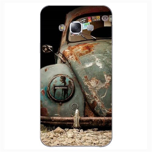 Cover&Case Samsung Galaxy E7 Silikon Tasarım Telefon Kılıfı Ccs02-E02-0099