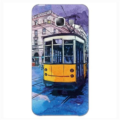 Cover&Case Samsung Galaxy E7 Silikon Tasarım Telefon Kılıfı Ccs02-E02-0117