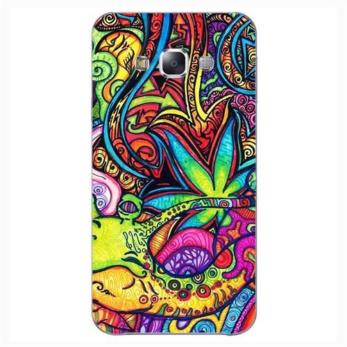 Cover&Case Samsung Galaxy E7 Silikon Tasarım Telefon Kılıfı Ccs02-E02-0143