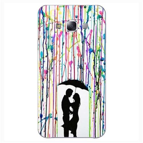 Cover&Case Samsung Galaxy E7 Silikon Tasarım Telefon Kılıfı Ccs02-E02-0151