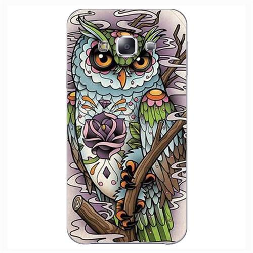 Cover&Case Samsung Galaxy E7 Silikon Tasarım Telefon Kılıfı Ccs02-E02-0248