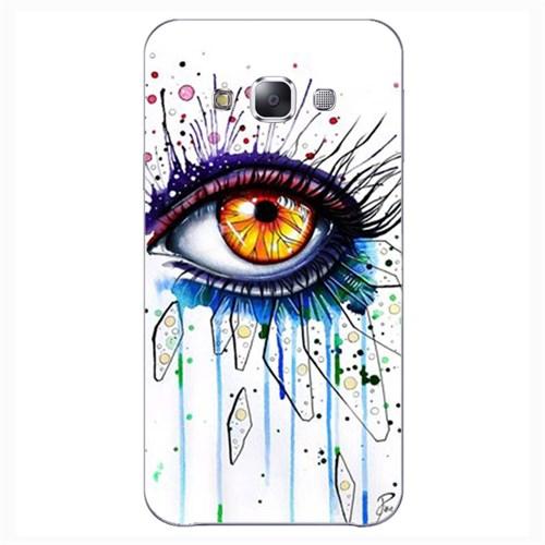 Cover&Case Samsung Galaxy E7 Silikon Tasarım Telefon Kılıfı Ccs02-E02-0259