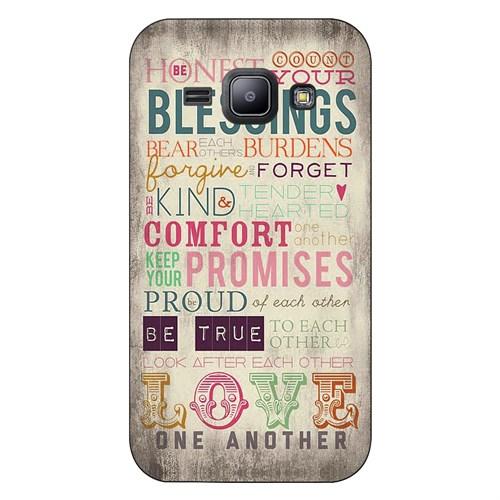 Cover&Case Samsung Galaxy J1 Silikon Tasarım Telefon Kılıfı Ccs02-J01-0025