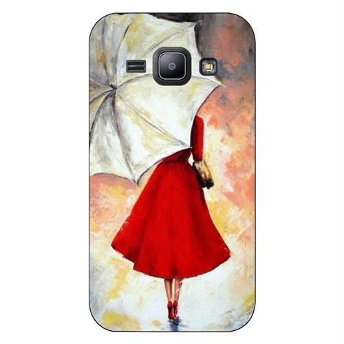 Cover&Case Samsung Galaxy J1 Silikon Tasarım Telefon Kılıfı Ccs02-J01-0043