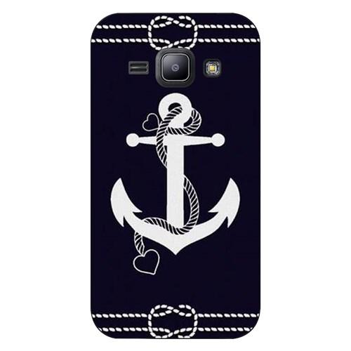 Cover&Case Samsung Galaxy J1 Silikon Tasarım Telefon Kılıfı Ccs02-J01-0102