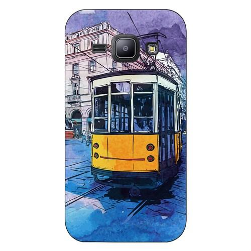 Cover&Case Samsung Galaxy J1 Silikon Tasarım Telefon Kılıfı Ccs02-J01-0117
