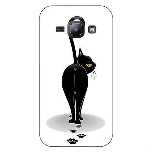 Cover&Case Samsung Galaxy J1 Silikon Tasarım Telefon Kılıfı Ccs02-J01-0118