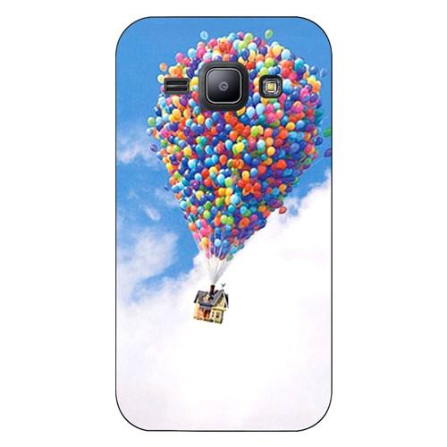 Cover&Case Samsung Galaxy J1 Silikon Tasarım Telefon Kılıfı Ccs02-J01-0132