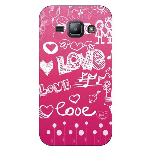 Cover&Case Samsung Galaxy J1 Silikon Tasarım Telefon Kılıfı Ccs02-J01-0182