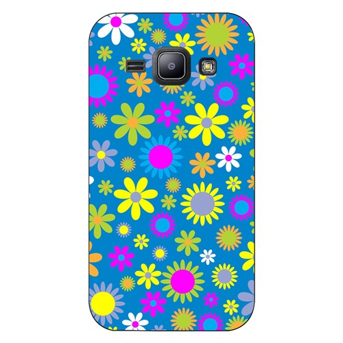 Cover&Case Samsung Galaxy J1 Silikon Tasarım Telefon Kılıfı Ccs02-J01-0194