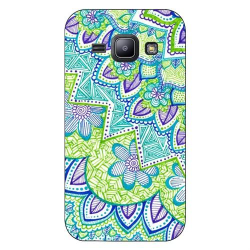 Cover&Case Samsung Galaxy J1 Silikon Tasarım Telefon Kılıfı Ccs02-J01-0205