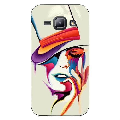 Cover&Case Samsung Galaxy J1 Silikon Tasarım Telefon Kılıfı Ccs02-J01-0226