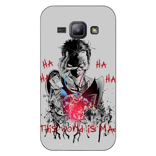 Cover&Case Samsung Galaxy J1 Silikon Tasarım Telefon Kılıfı Ccs02-J01-0262