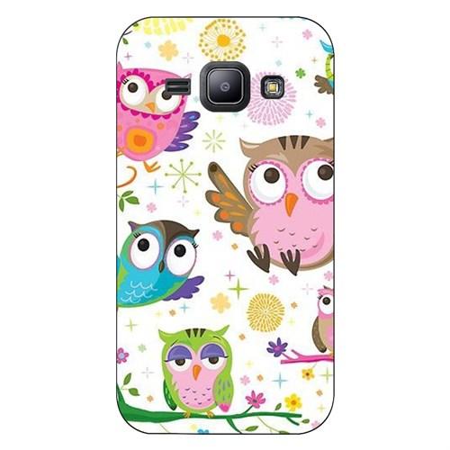 Cover&Case Samsung Galaxy J1 Silikon Tasarım Telefon Kılıfı Ccs02-J01-0273
