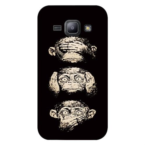 Cover&Case Samsung Galaxy J1 Silikon Tasarım Telefon Kılıfı Ccs02-J01-0276