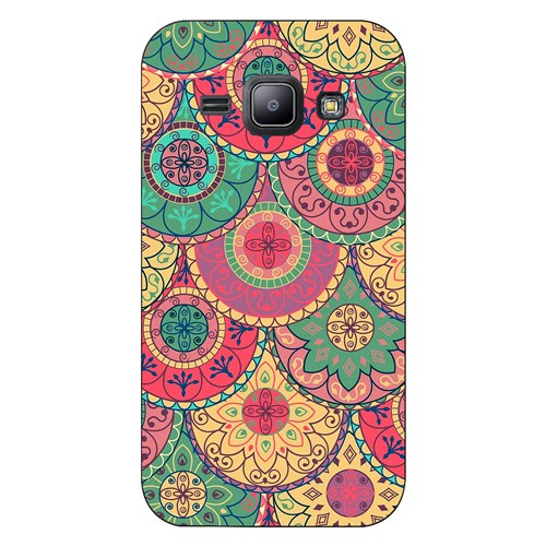Cover&Case Samsung Galaxy J1 Silikon Tasarım Telefon Kılıfı Ccs02-J01-0278