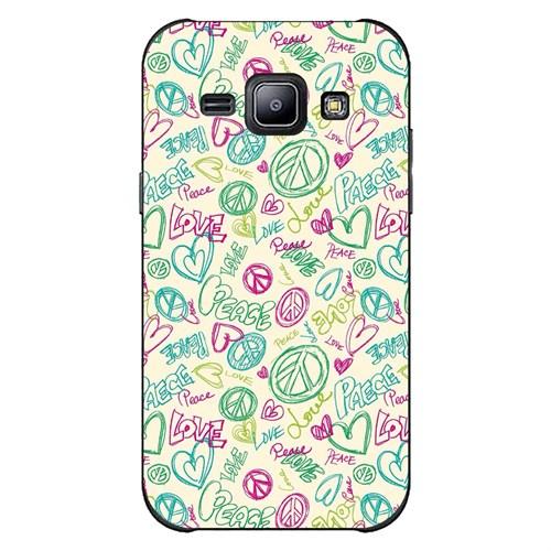 Cover&Case Samsung Galaxy J2 Silikon Tasarım Telefon Kılıfı Ccs02-J02-0088